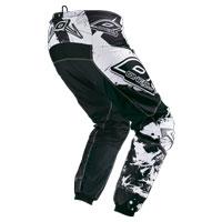 Oneal Pantaloni Element Shocker Nero Bianco