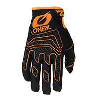 O Neal Sniper Elite Gloves Black Orange