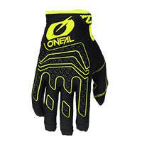 O Neal Sniper Elite Gloves Black Yellow