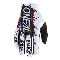 O'neal Villain Gloves White