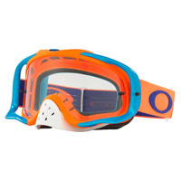 Oakley Crowbar Orange Blue