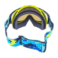 Oakley Crowbar Thermo Camo Blue Lime Lente Ice Iridium & Clear