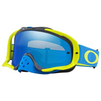 Oakley Crowbar Blue Green Lens Ice Iridium & Clear