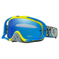 Oakley Crowbar Camo Vine Night Blue Green Lente Ice Iridium & Clear