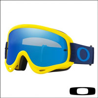 Oakley O Frame Yellow Navy - Lente Black Ice & Clear