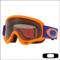 Oakley O Frame Checked Finish Blue Orange - Lente Dark Grey