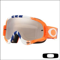 Oakley O Frame Pinned Race Orange Blue Red - Lente Black Ird. & Clear