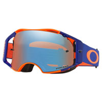 Oakley Airbrake Mx Prizm™ Orange Blue - Lente Sapphire