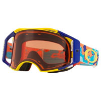 Oakley Airbrake Mx Prizm™ Thermo Camo Orange Blue - Lente Bronze