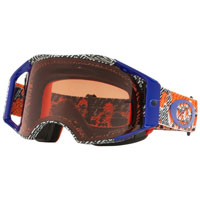 Oakley Airbrake Mx Prizm™ Dazzle Dyno Orange Blue - Lente Bronze