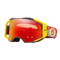 Oakley Airbrake Mx Prizm™ Dazzle Dyno Red Yellow - Lente Torch
