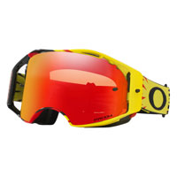 Oakley Airbrake Mx Prizm™ High Voltage Red Yellow - Lente Torch