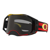 Oakley Airbrake Mx Frequency Red Yellow - Lens Dark Grey