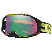 Oakley Airbrake Mx Prizm™ Frequency Green Yellow - Lente Jade
