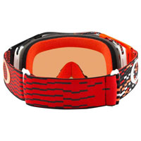 Oakley Airbrake MX Prizm™ Equalizer Red Orange Lente Bronze