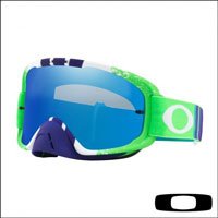 Oakley O2 Mx Pinned Race Green Blue - Lente Black Ice Iridium