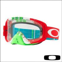 Oakley O2 Mx Pinned Race Red Green