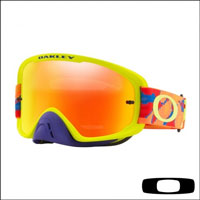 Oakley O2 Mx Thermo Camo Bog - Lente Clear & Fire Iridium