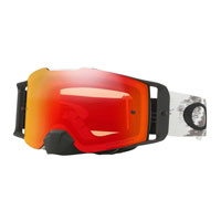 Oakley Front Line Mx Matte White Speed Lente Prizm™ Torch