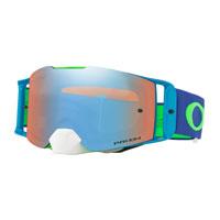 Oakley Front Line Mx Flo Green Blue Lens Prizm™ Sapphire
