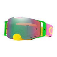 Oakley Front Line Mx Flo Pink Yellow Lente Prizm™ Jade