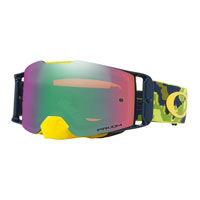 Oakley Front Line Mx Thermo Camo Green Yellow Lente Prizm™ Jade