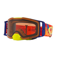 Oakley Front Line Mx Thermo Camo Orange Red - Lente Prizm™ Bronze