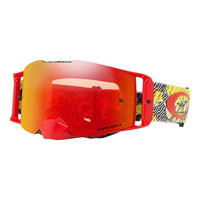 Oakley Front Line Mx Dazzle Dyno Red Yellow - Lente Prizm™ Torch