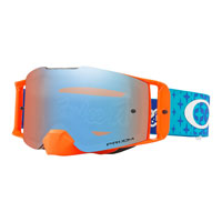 Oakley Front Line Mx Tld Starburst Blue Orange - Lente Prizm™ Sapphire