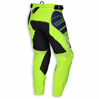 Ufo Pantalone Cross Enduro Sequence Giallo Fluo