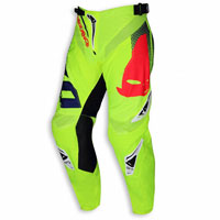 Ufo Pants Offroad Sequence Yellow Fluo