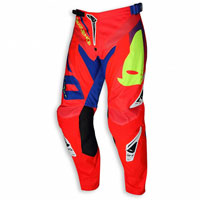 Ufo Pantalone Cross Enduro Sequence Rosso Fluo