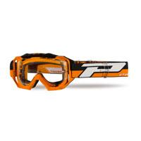 Progrip 3200 Ls Venom Occhiale Cross Enduro Arancio