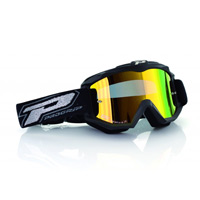 Progrip 3204 Mx Goggles Dark Side Multilayered Mirrored Yellow