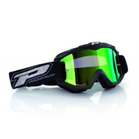 Progrip 3204 Mx Goggles Dark Side Multilayered Mirrored Green