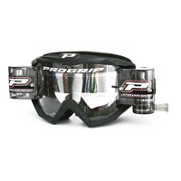 Progrip 3208 Mx Goggles Roll Off Extra Large Black
