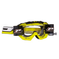 Progrip 3218 Mx Goggles Roll Off Extra Large Yellow