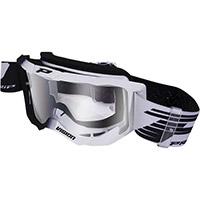 Gafas Progrip 3300 negro blanco transparente