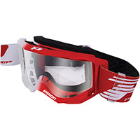 Gafas Progrip 3300 blanco rojo transparente