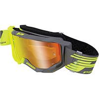 Gafas Progrip 3300 amarillo gris espejado