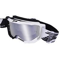 Gafas Progrip 3300 blanco negro espejado