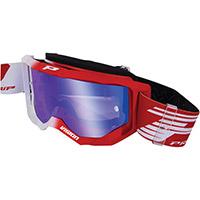 Gafas Progrip 3300 blanco rojo espejado