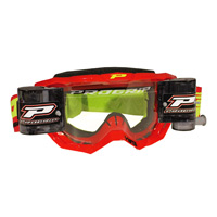 Progrip 3318 Mx Goggles Roll Off Extra Large Red