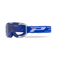 Progrip 3400 Mx Goggles Menace Transparent Blue