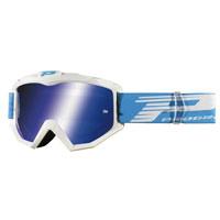 Progrip 3301 Atzaki Occhiale Croos Enduro Bianco Blu