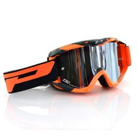Progrip 3450fl Mx Goggles Riot Mirrored Orange Black