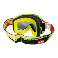 Progrip 3450fl Mx Goggles Riot Mirrored Yellow
