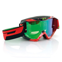 Progrip 3450fl Mx Goggles Riot Mirrored Red Black