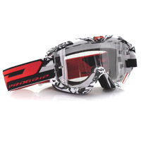 Progrip 3450ls Mx Goggles Riot Light Sensitive White Black