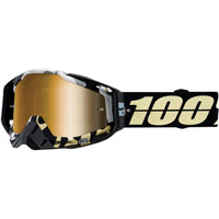 100% Racecraft Ergoflash Lente Specchiata Oro
